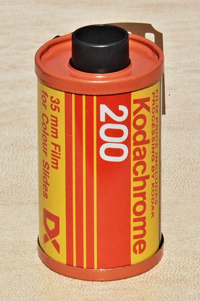 Fichier:Kodachrome 200 - Film for colour slides.jpg