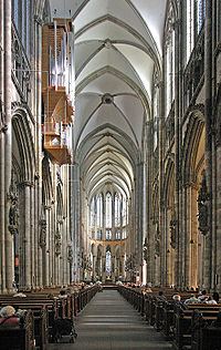 New technological discoveries allowed the development of the gothic style.