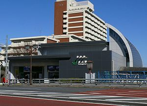 Komagome Station - North building of JR station