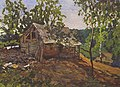 Konstantin Gorbatov - Landscape with a House.jpg