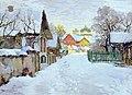 Konstantin Gorbatov - Winter Evening in Pskov.jpg