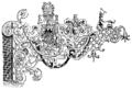 Konstrik smedsskylt i Amsterdam (1600-talets förra hälft, ur Nordisk familjebok).png