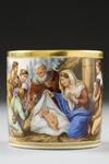 Kopp med fat. Paris. Detalj örat - Hallwylska museet - 87080.tif