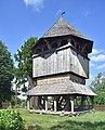 Kornie, cerkiew św. Paraskewy, dzwonnica (HB3).jpg