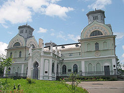 A palace of the family of Lopukhinykh-Demydovykh in Korsun-Shevchenkivskyi.