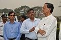 Kozimuttam Ganapathy Kumar and Arijit Dutta Choudhury with Manish Gupta - MSE Golden Jubilee Celebration - Science City - Kolkata 2015-11-17 5106.JPG
