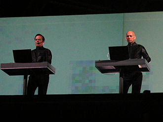 She's Madonna - Image: Kraftwerk on stage