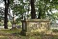 Kraków Łuczanowice cmentarz kalwiński - nagrobki.JPG