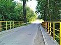 Kraków - the bridge over the Drwinka river, connecting Facimiech Street (housing the Na Kozłówce) with Podlesie Street (housing the Piaski Wielkie).JPG