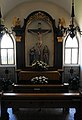 """Kreuzigung """"Jesus Christus"""", Seitenaltar Kapuzinerkirche Klagenfurt.jpg"""