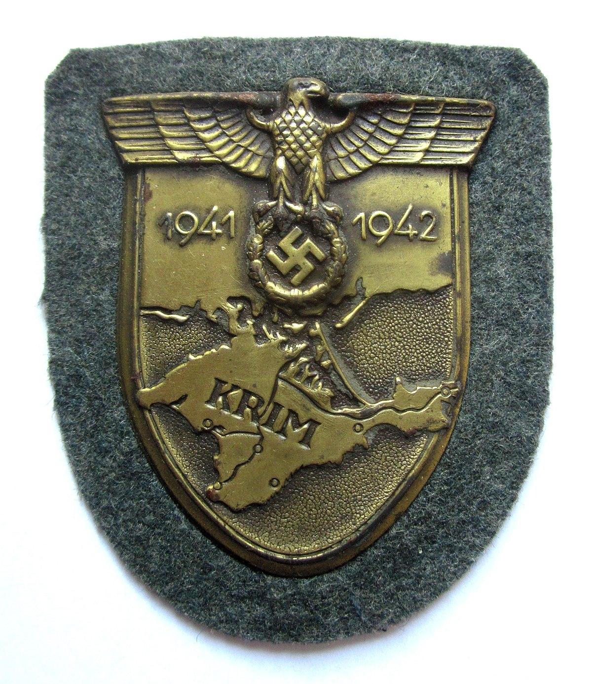 Crimea shield wikipedia - German military decorations ww2 ...