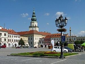 Kroměříž - Image: Kroměříž, Velké náměstí 01