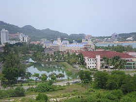 A view of Kuah