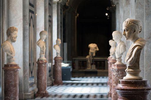 Kunsthistorisches Museum Wien 2016 Antikensammlung römische Büsten a