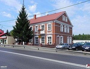 Kurów - Image: Kurów, Urząd Gminy fotopolska.eu (337274)
