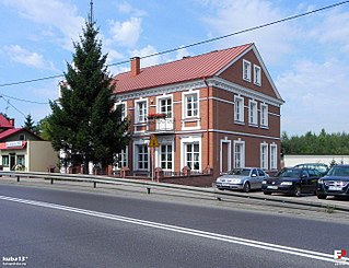 Kurów Village in Lublin Voivodeship, Poland