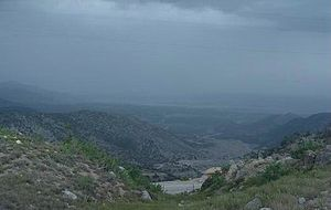 Orakzai and Kurram offensive - View of Kurram Agency