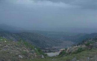 Kurram District - Image: Kurram Agency of Pakistan from Paktia Border line (19923108)