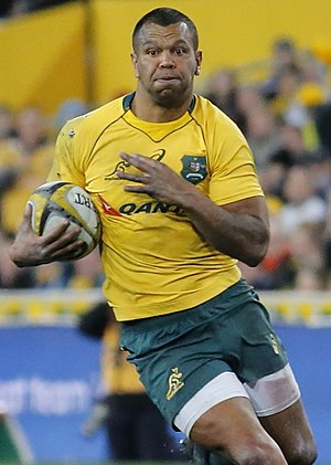 Kurtley Beale - Kurtley Beale playing for the Wallabies