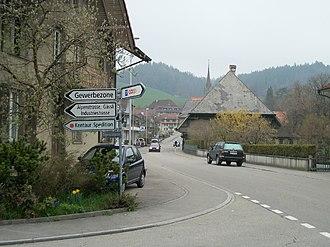 Lützelflüh - Goldbach village in Lützelflüh