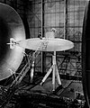 LAL 64788 - 1-to-5 Albacore submarine model in Langley Research Center Full-Scale Wind Tunnel.jpg