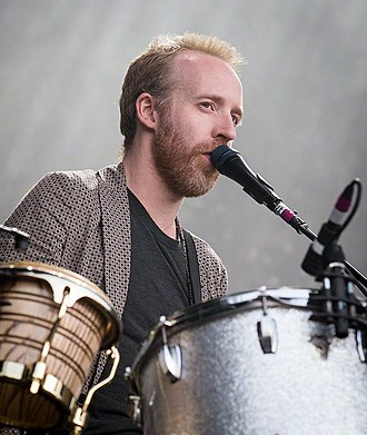 Al Doyle - Doyle performing with LCD Soundsystem in 2016