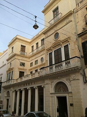 Giuseppe Bonavia - La Borsa in Valletta, one of Bonavia's best-known buildings