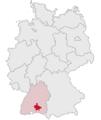 Lage des Landkreises Sigmaringen in Deutschland.png