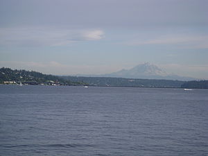 English: Lake Washington, Seattle