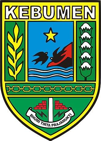 Kebumen Regency - Image: Lambang Kabupaten Kebumen