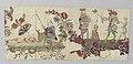 Lambrekijn of fragment met chinoiserieën in sitsen applicatie, BK-16441-E.jpg
