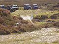 Landrovers of grouse shooting party - geograph.org.uk - 1496631.jpg