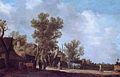 Landscape with farm houses, attributed to Jan van Goyen.jpg