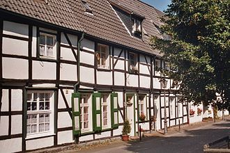 "Hagen - Half-timbered houses ""Lange Riege"" (17th century)"