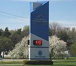 Lansing Capital Region International Airport Entrance Sign 2.jpg