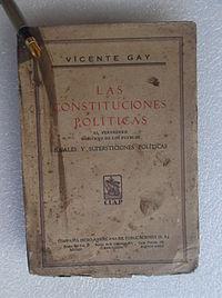 Vicente gay i forner biografía