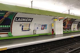 Image illustrative de l'article Laumière (métro de Paris)