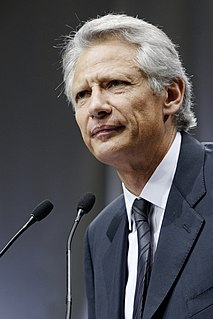 Dominique de Villepin Prime Minister of France (2005–2007)