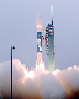 Launch of Delta II rocket carrying GeoEye-1 (080906-F-5195D-002).jpg