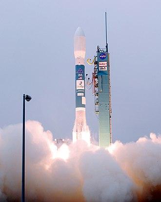 GeoEye-1 - Launch of Delta II rocket carrying GeoEye-1