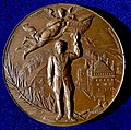 Lausanne, Switzerland Shooting Bronze Medal 1894, obverse.jpg