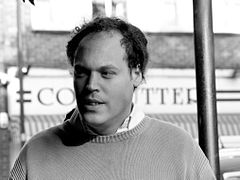 Lavie Tidhar i London 2006