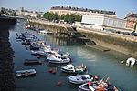Le Havre (France), Bassin du Roy, low tide.JPG