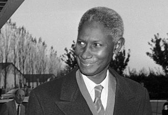 Joof family - Abdou Diouf. The second president of Senegal and Secretary General of Francophonie.