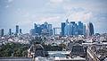 Le quartier de la Défense vu de la Tour Saint-Jacques, Paris août 2014.jpg