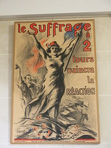 Le suffrage à 2 tours vaincra la réaction.jpg
