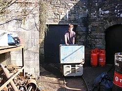 Lea Bailey Light Railway — Clearwell Caves (13056867525).jpg