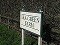 Lea Green Farm Sign - geograph.org.uk - 356597.jpg