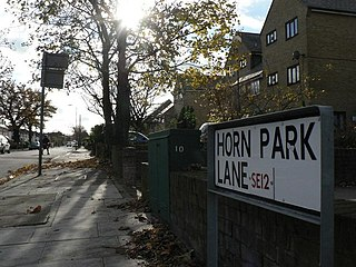 Horn Park Human settlement in England