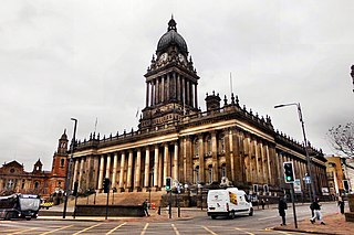 Leeds Town Hall Grade I listed seat of local government in Leeds, United Kingdom